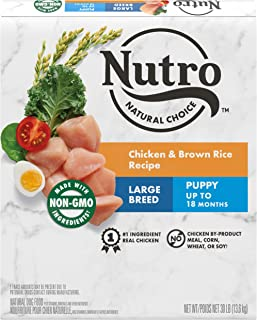 product image for NUTRO NATURAL CHOICE Large Breed Puppy Dry Dog Food, Chicken & Lamb, 30 lb. bags
