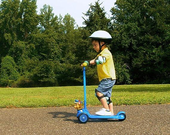 Patinete infantil Paw Patrol para niños y niñas con Chase 3D ...