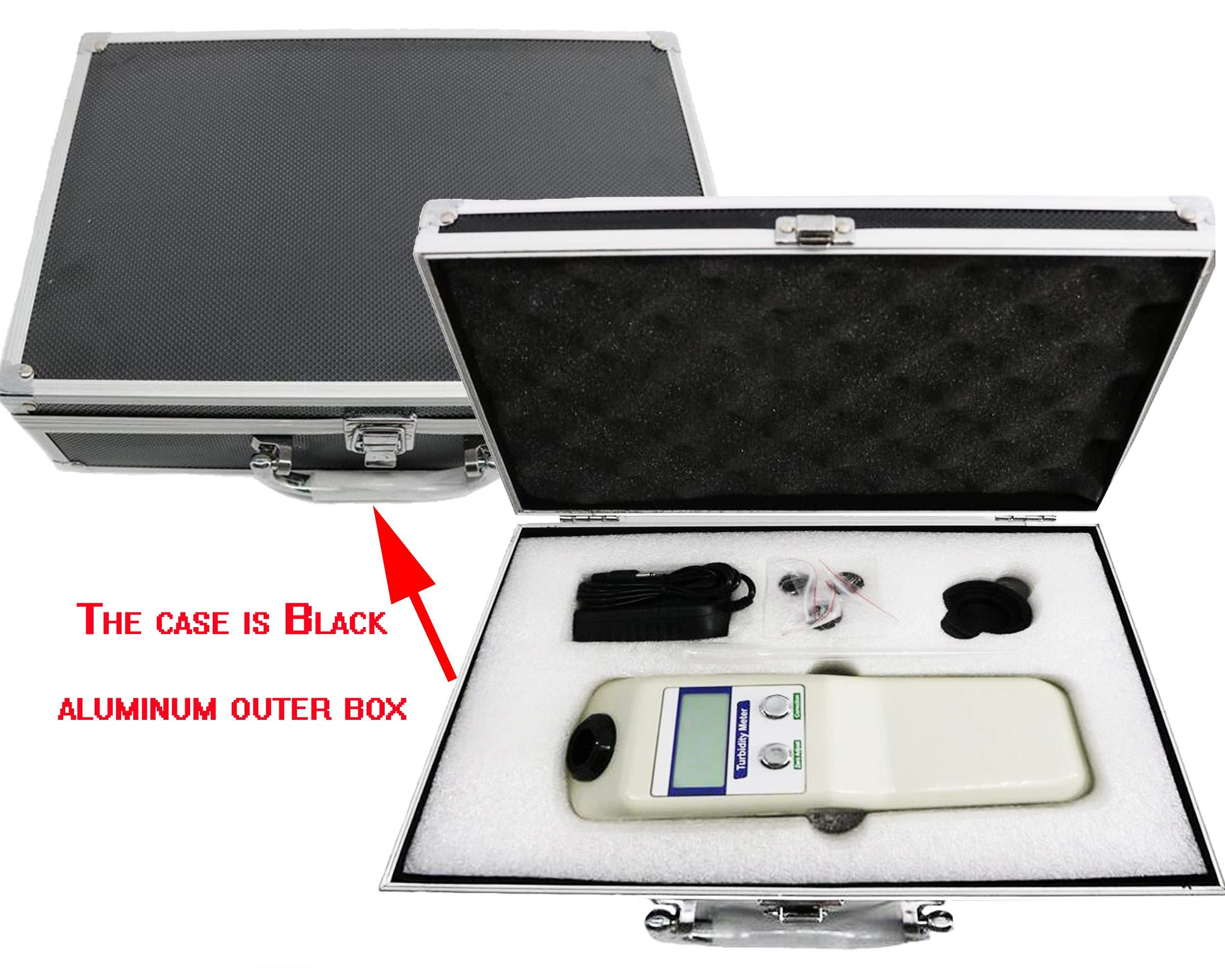 VTSYIQI Portable Digital Turbidimeter Turbidity