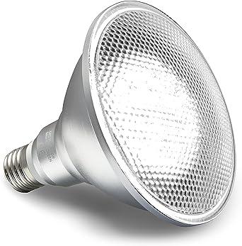 Smartsense by Mulang LED PAR38 12W 1 Pack - Foco LED de seguridad con detector de movimiento integrado, uso interior / exterior, resistente a la intemperie: Amazon.es: Iluminación