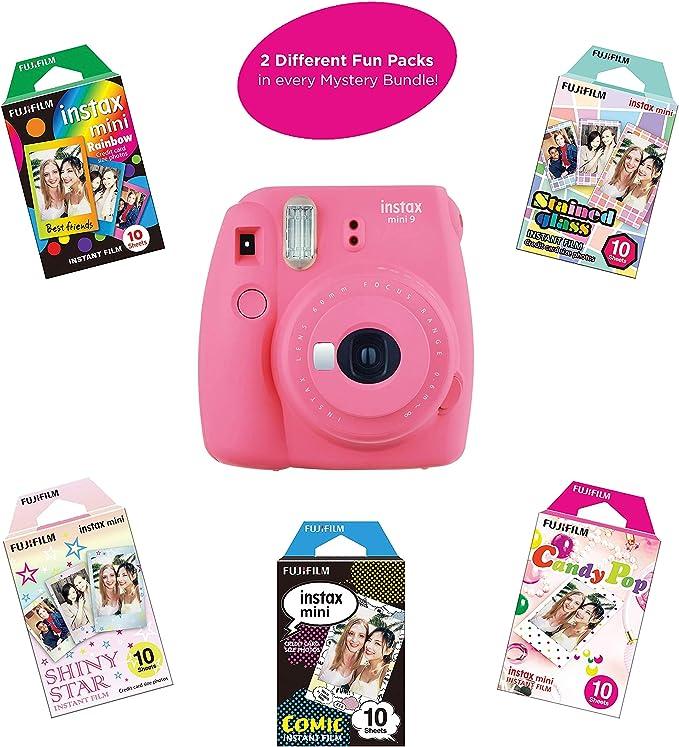 Fujifilm Instax Mini 9 Cámara instantánea Incluye 2 Paquetes de ...