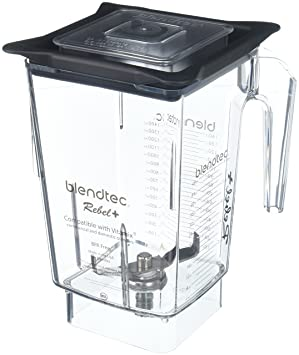 Blendtec Rebel + recipiente de repuesto para Vitamix comercial y residencial 90oz