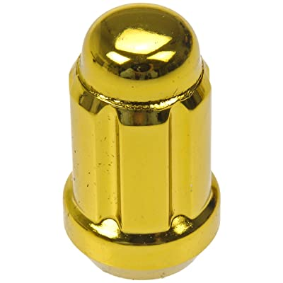 Dorman 711-355K Pack of 20 Gold Lock Nuts with Key: Automotive