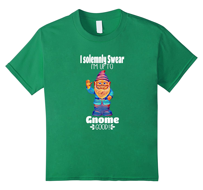 Womens Solemnly Gnome T Shirt Medium-Newstyleth