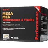 GNC Mega Men Performance and Vitality Supplement, 30 Count