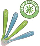 Cuddle Baby Gum-Friendly First Stage Soft Tip Silicone Feeding Spoons for Babies