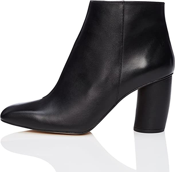 579e682e592 FIND Women's Square Toe Ankle Boots