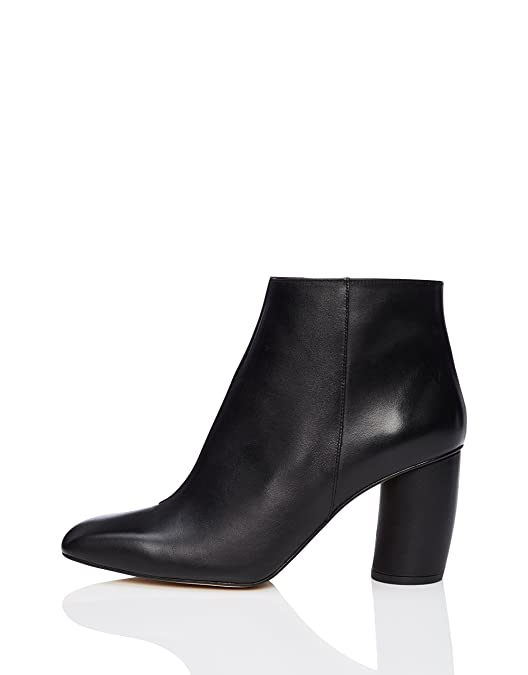 FIND Women's Square Toe Ankle Boots