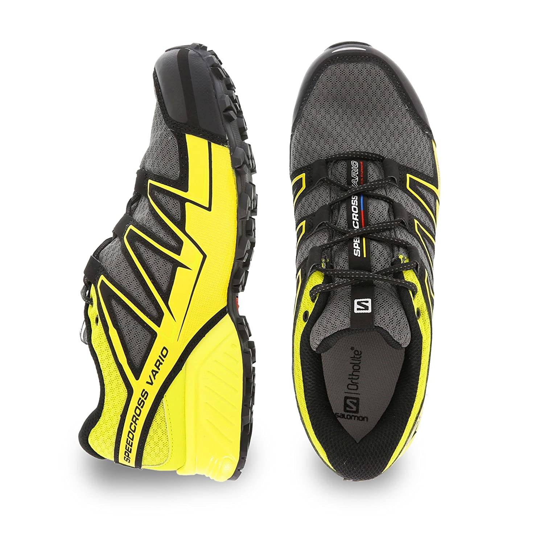 SALOMON Herren Speedcross Vario GTX Traillaufschuhe, gelb, 49.3 EU
