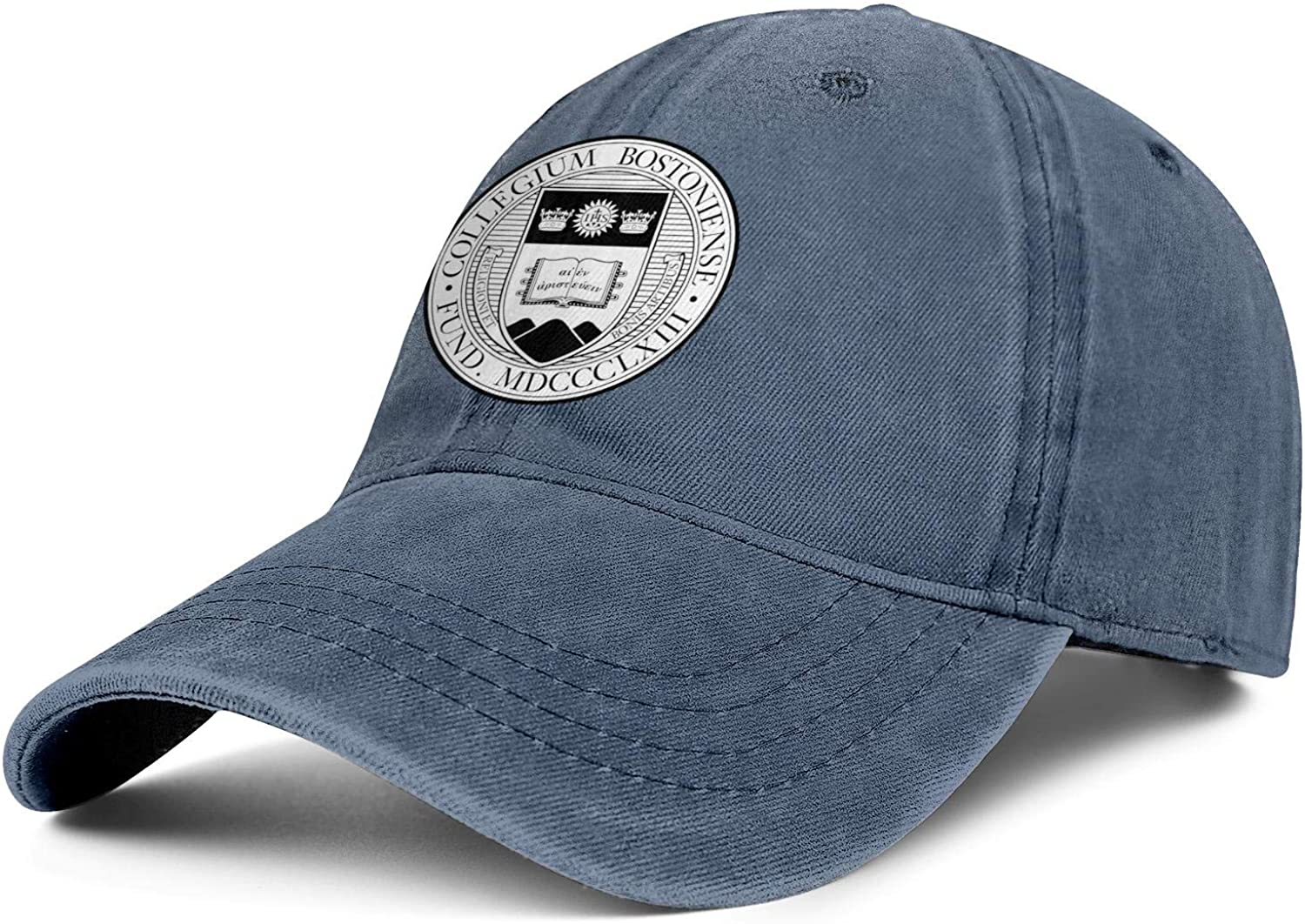 Trucker Hats TONGZIRT Fitted Jeans Dad Hats Cotton Mens Baseball Caps Unisex Boston-College-Logos