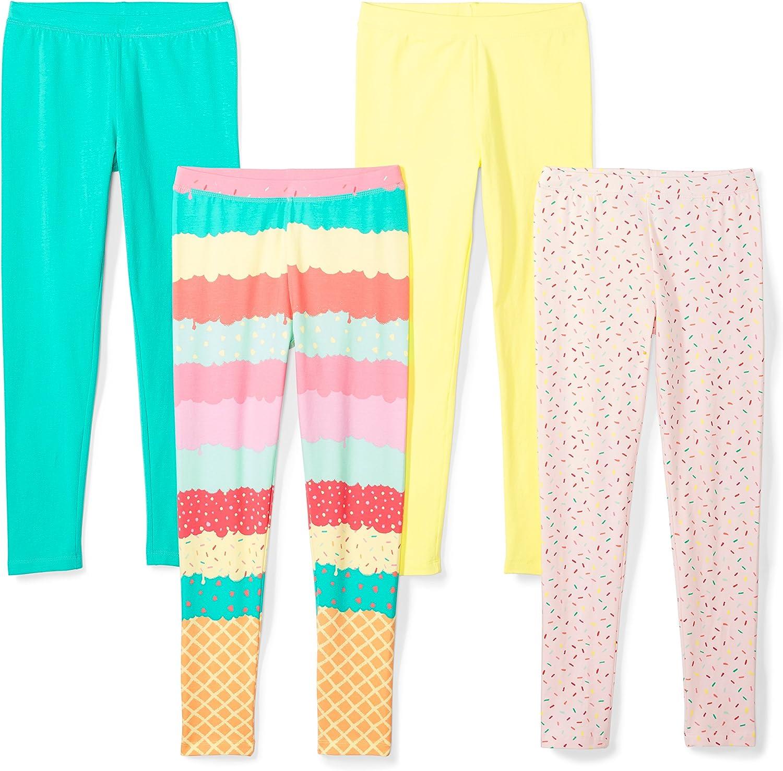 Spotted Zebra Girls 4-Pack Leggings Pack of 4 Brand
