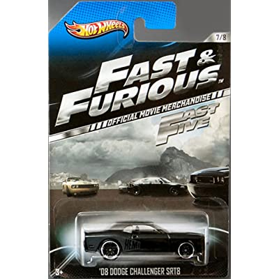 1 X 2013 Hot Wheels Fast & Furious Limited Edition - '08 Dodge Challenger SRT8 [7/8] by Mattel: Toys & Games