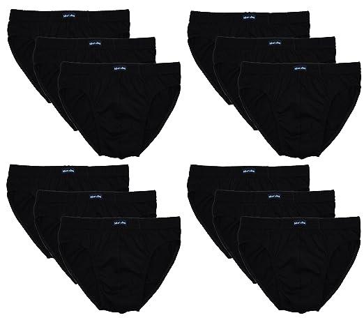 0eedb93bd11b wirarpa Mens Underwear Briefs Cotton 4 Pack Gents Classic Slips Soft  Waistband Underpants MEN-BRIEFS-03