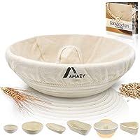 Amazy cesta de fermentación, incluyendo un folleto con recetas y consejos de uso - Cesta fermentación de pan en palma…