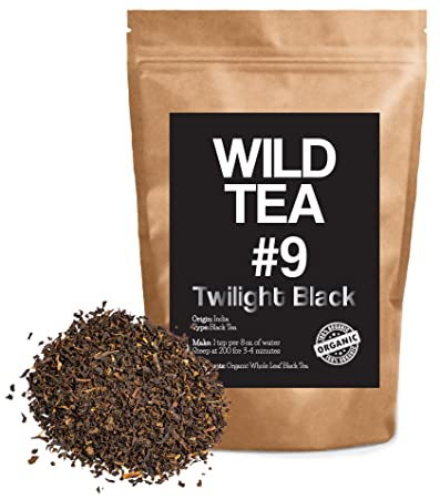 Organic Black Tea From India, Wild Tea #9 Premium Loose Leaf Tea Black Tea (2 ounce)