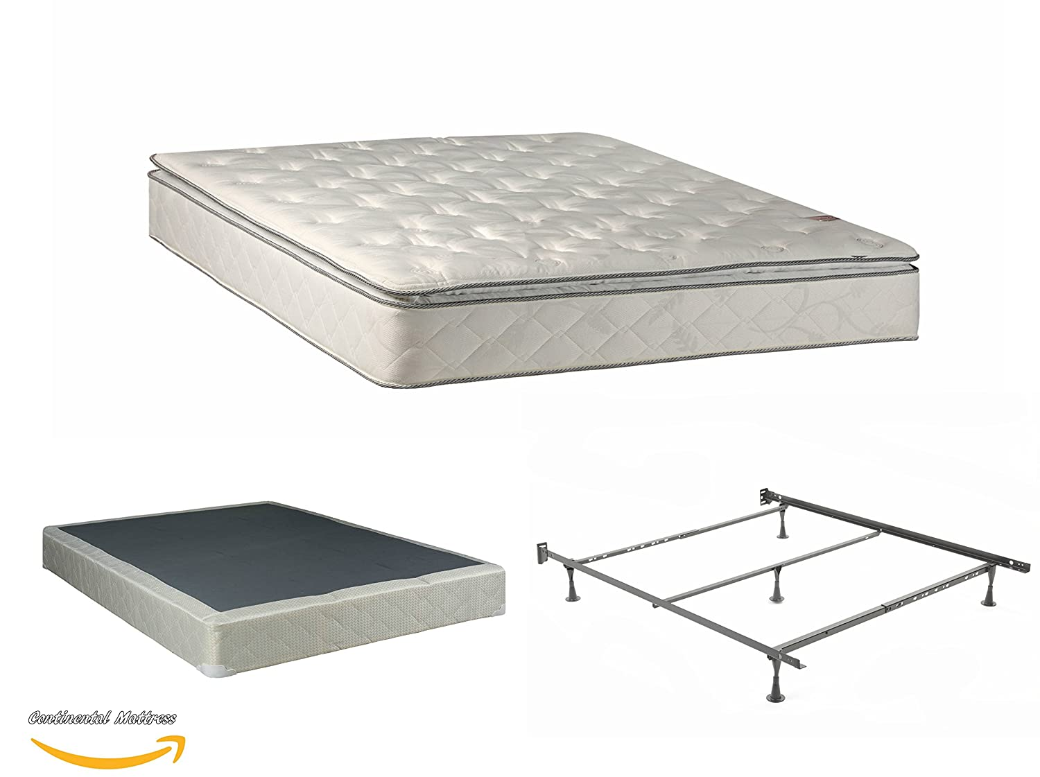 amazon com continental matress mattress 10 inch fully assembled