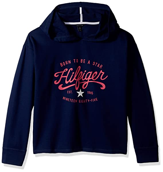 2ca7a6ceed20 Tommy Hilfiger Big Girls Pullover Hoodie