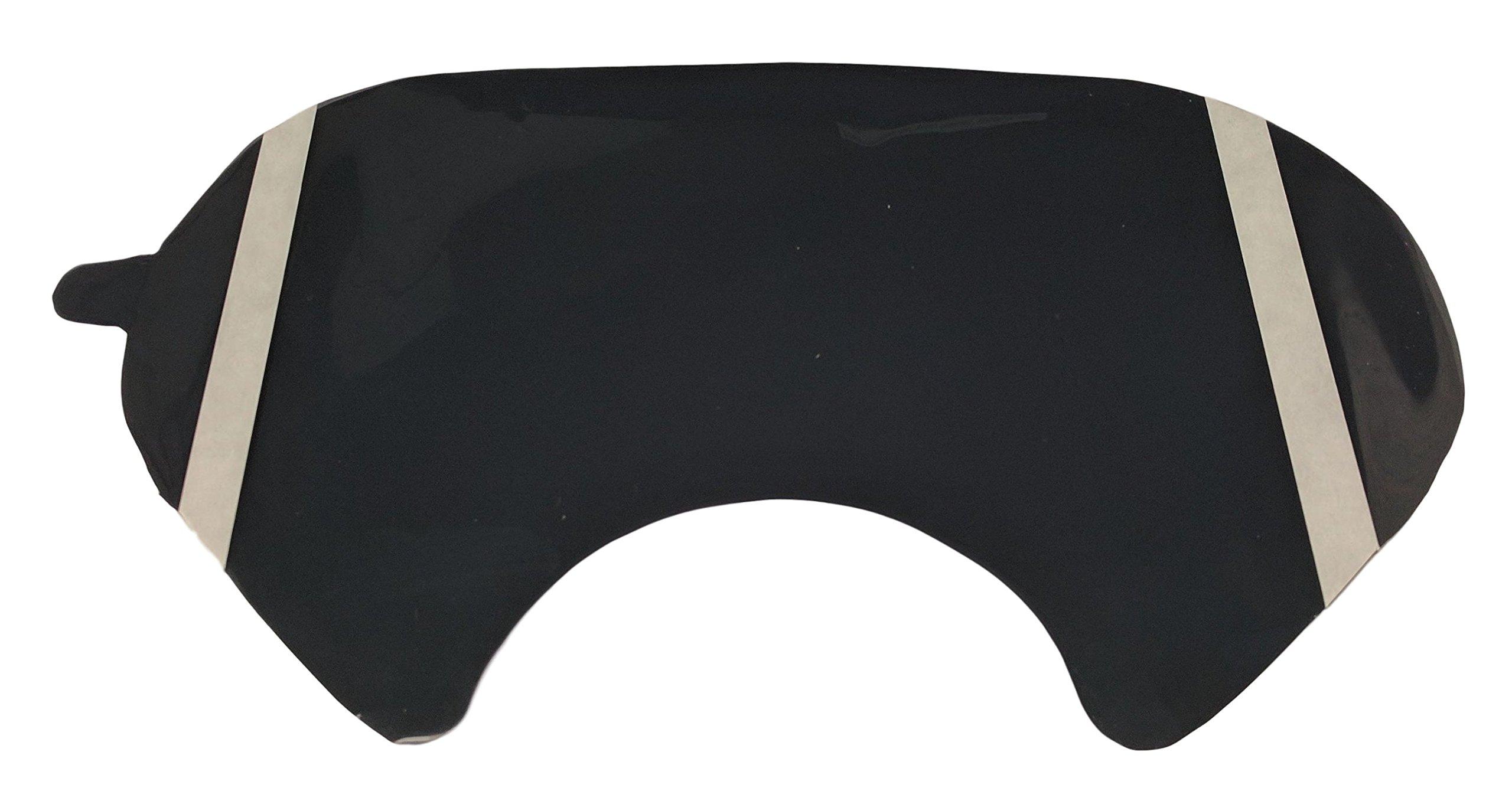 SlagelFoam Tinted Lens Cover 6886, Mask Protector (pack of 5)