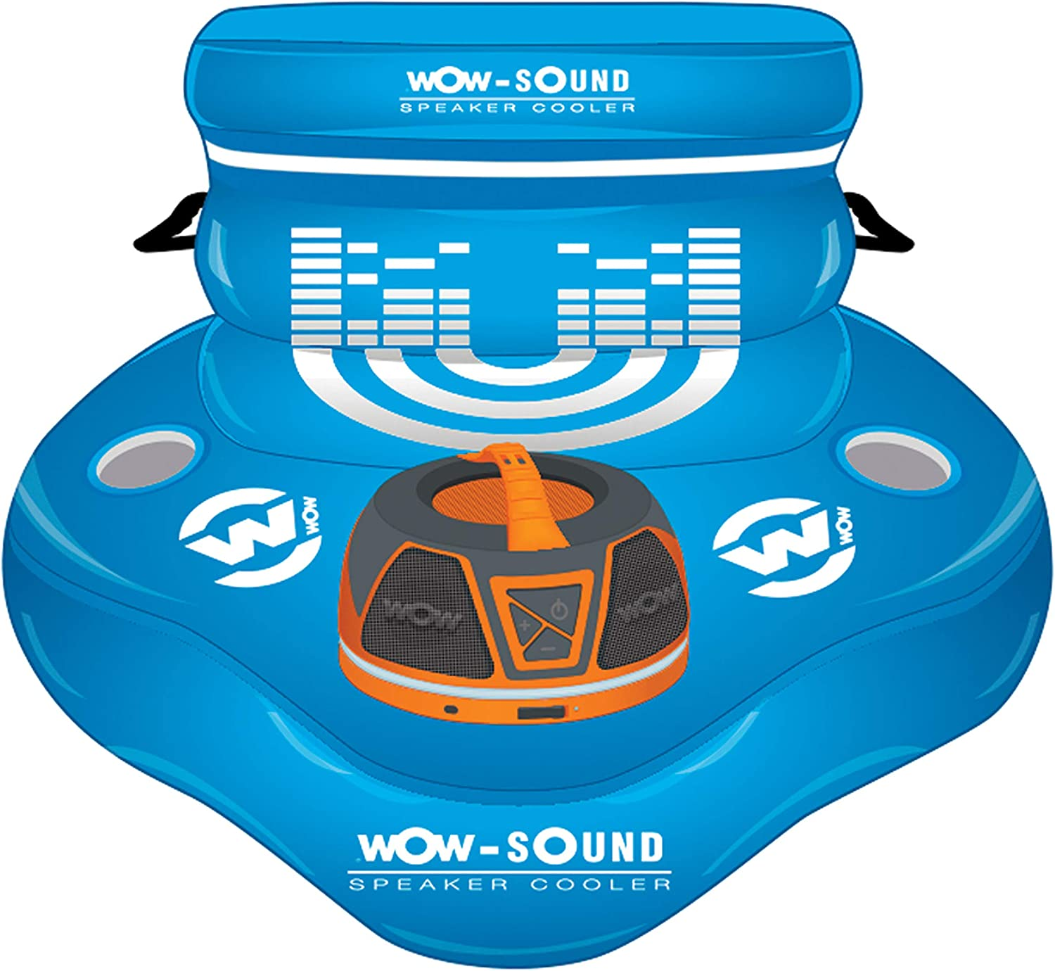 WOW World of Watersports Inflatable Heavy Duty 30 Quart Floating Coolers