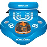 WOW World of Watersports Inflatable Heavy Duty 30 Quart - 30 Can capacity Floating Coolers with Cup Holders and Zippered Lids