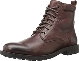 206 Collective Men's Denny Lace-up Motorcycle Boot