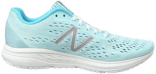 Wbreav2, Running Femme, Bleu (Blue/White), 43 EUNew Balance