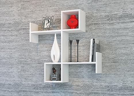 Homidea burc mensola da muro mensola parete mensola libreria