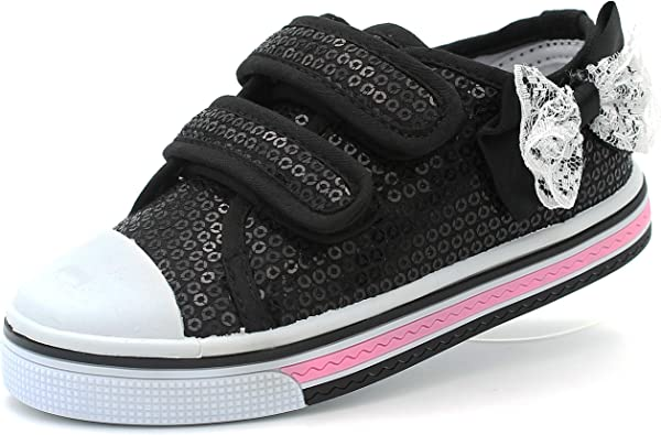 Canvas Sneakers Shoes for Toddler Girls