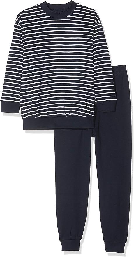 Pijama niños entretiempo rayas 100% algodón orgánico: Amazon ...