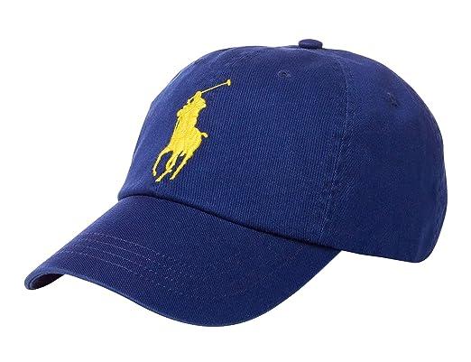 Ralph Lauren - Gorra de béisbol - Big Pony - Fall Royal: Amazon.es: Ropa y accesorios