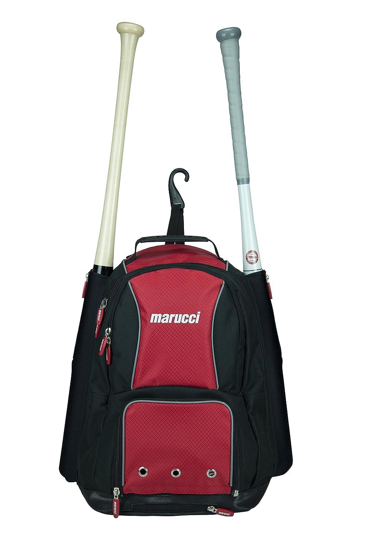 Marucci Travel Ball Bat Pack B00LQF0PKS ブラック/レッド ブラック/レッド