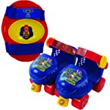 PlayWheels PAW Patrol Roller Skates with Knee Pads