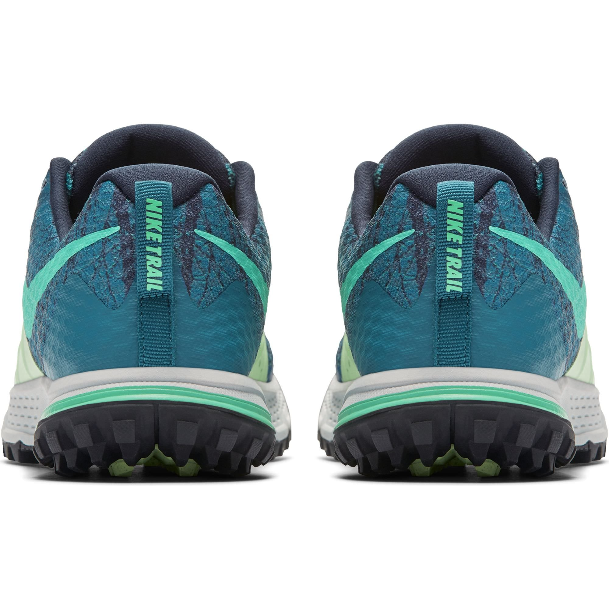 NIKE Women's Air Zoom Wildhorse 4 Running Shoe Green Abyss/Menta-Obsidian-Vapor Green 6.5 by NIKE (Image #4)