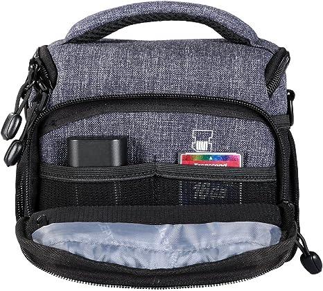 K&F Concept - Bolsa Bandolera para cámara réflex Objetivo y ...