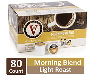 Down At Victor Allens Coffee Trying Out >> Amazon Com Morning Blend For K Cup Keurig 2 0 Brewers 80 Count