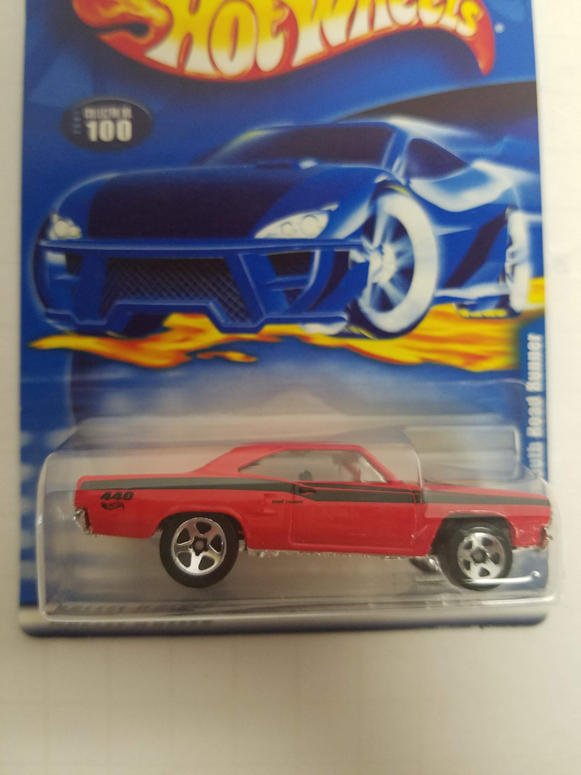 1970 Plymouth Road Runner Hot Wheels 2001 diecast 1/64 scale car No. 100
