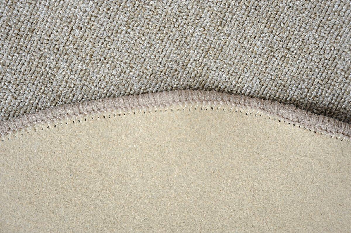 Havatex Havatex Havatex Schlingen Teppich Torronto rund - schadstoffgeprüft und pflegeleicht   robust strapazierfähig   für Flur Wohnzimmer Schlafzimmer, Farbe Blau, Größe 160 cm rund B00B66G178 Teppiche cf2d29