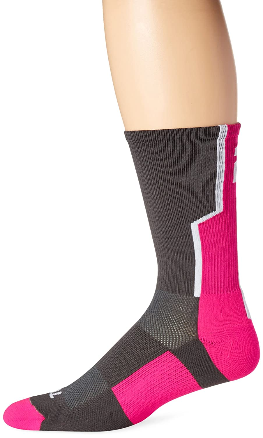 TCK Player Id番号Crew Sock – ピンク/グラファイト/ホワイト B014V6WR1S 2 Small Small|2