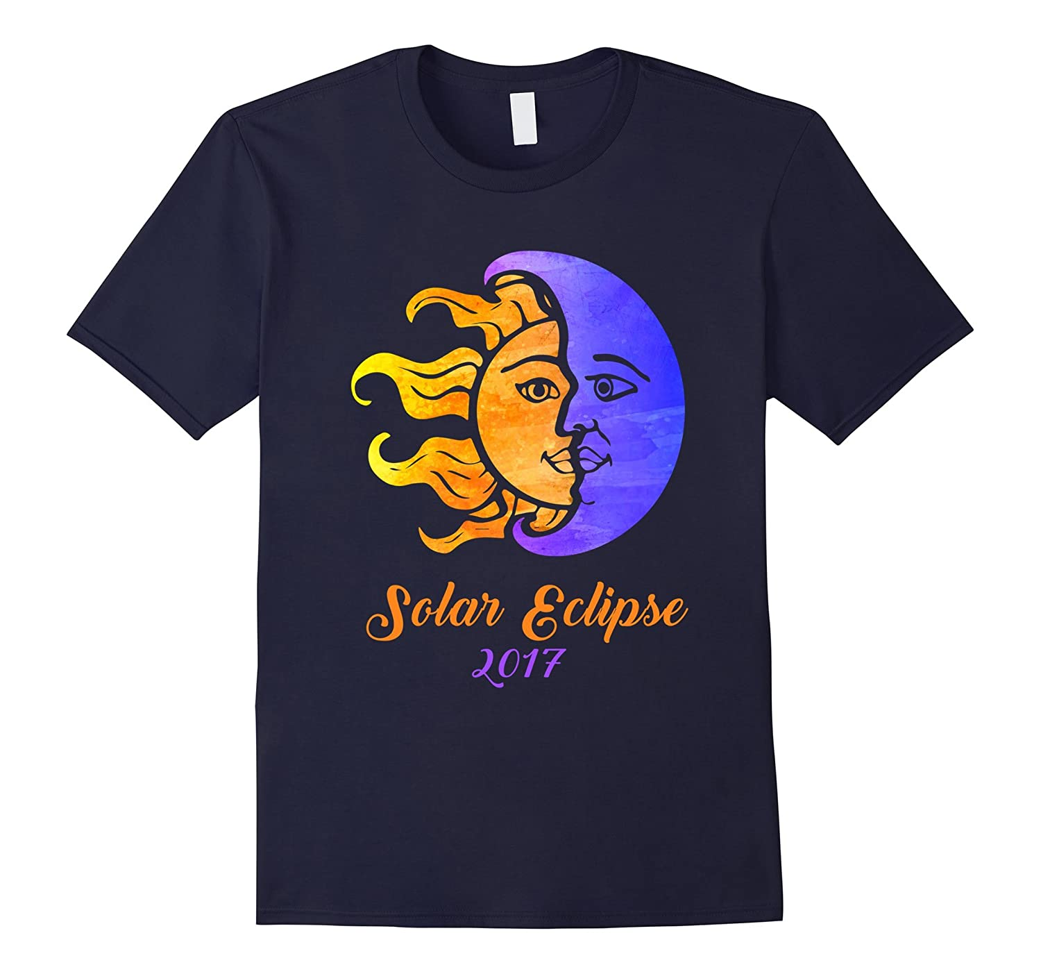 Solar Eclipse 2017 Moon And Sun T-Shirt-BN
