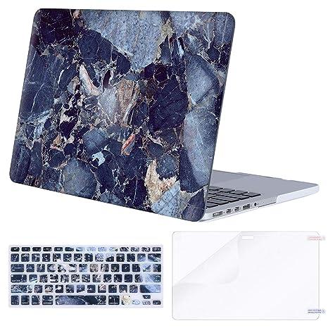 Amazon.com: MOSISO - Carcasa rígida de plástico para MacBook ...