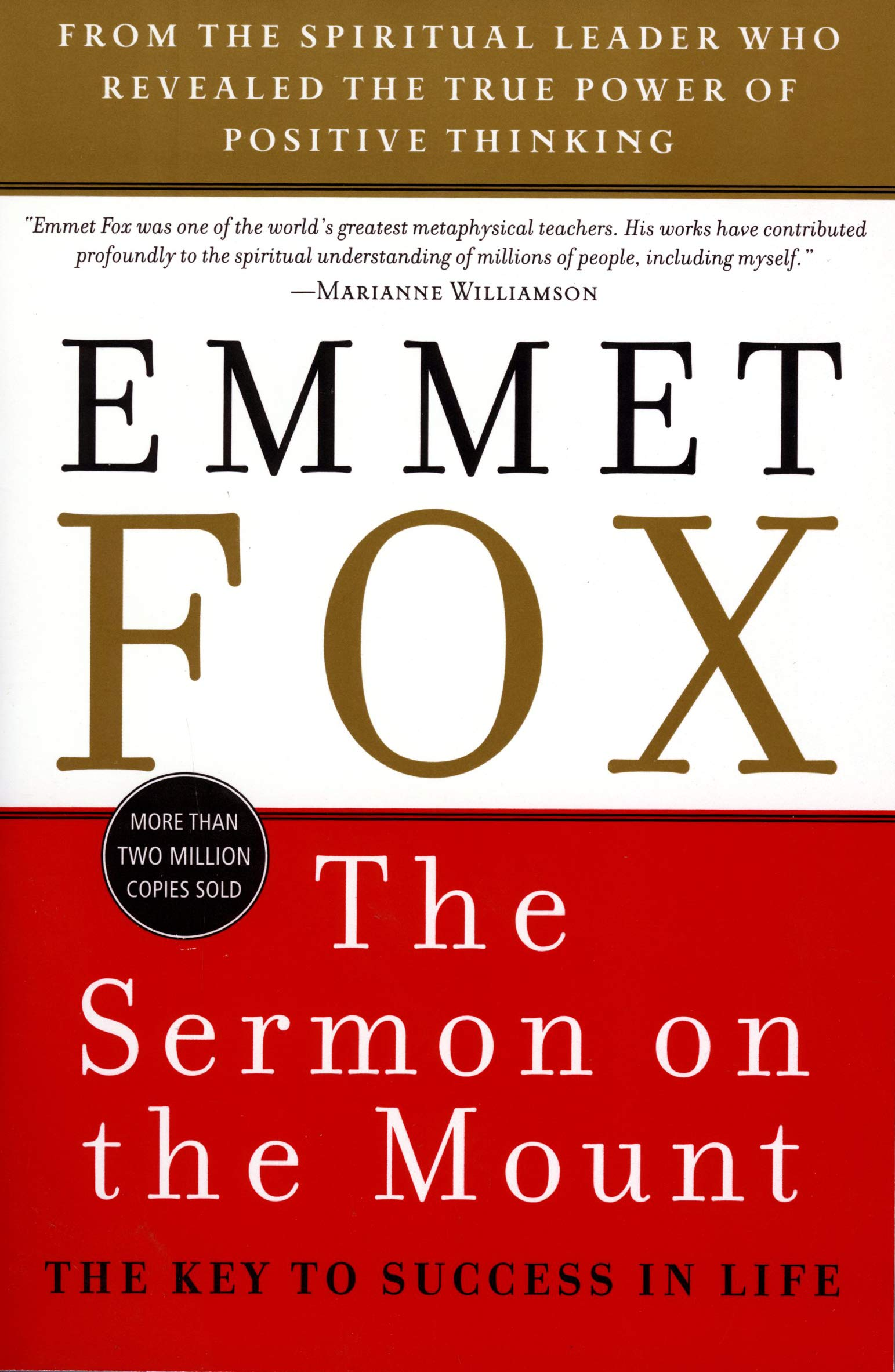 The Sermon On The Mount The Key To Success In Life Fox Emmet 9780060628628 Amazon Com Books