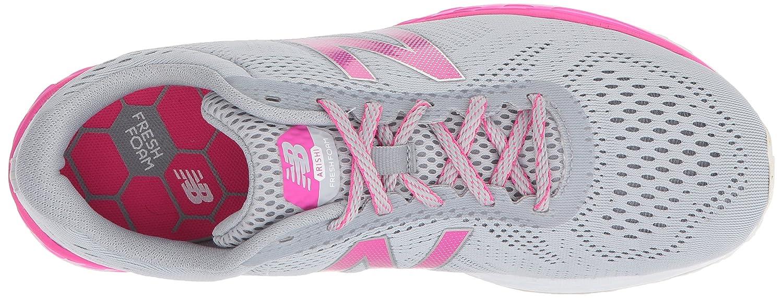 New Balance Women's Fresh Foam Arishi V1 Running Shoe B06XS2RZZR 10 D US Silver/Pink