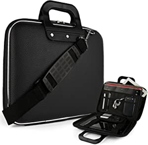 eBigValue Leather Notbook Tablet Computer Cube Case for Dell Venue 8 Pro BELL8 Pro81 BELL8 1818BLK