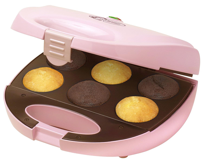 Bestron DCM8162 Cuoce 6 mini cup-cakes in soli 7 minuti!
