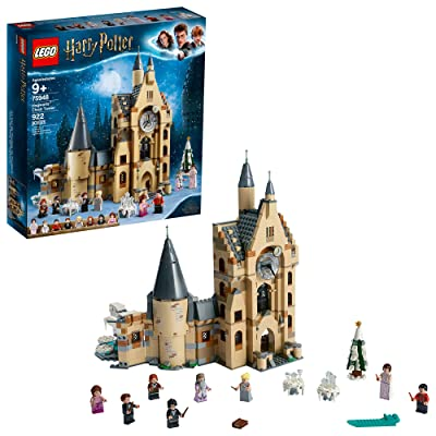 LEGO Harry Potter Hogwarts Clock Tower 75948 Build and Play Tower Set with Harry Potter Minifigures, Popular Harry Potter Gift and Playset with Ron Weasley, Hermione Granger and more (922 Pieces): Toys & Games