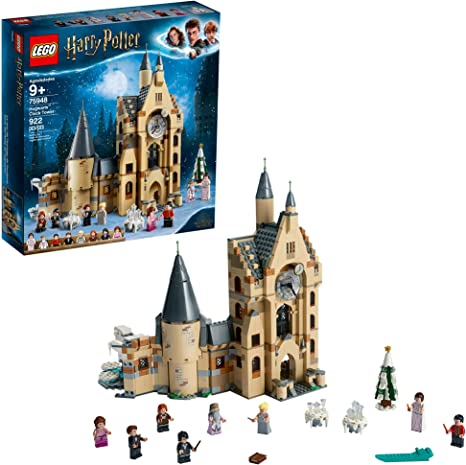 Amazon Com Lego Harry Potter Hogwarts Clock Tower 75948 Build And