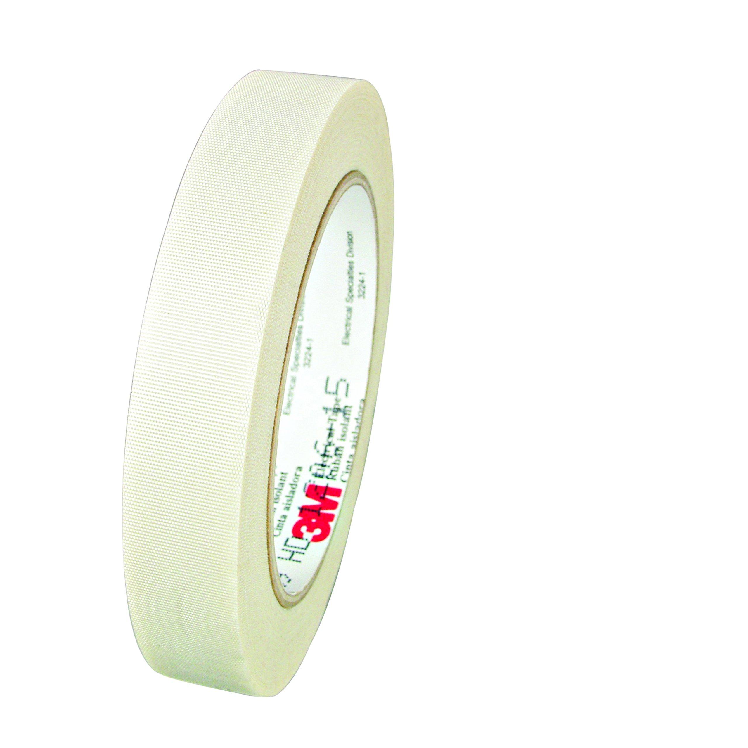 3M 69-3/4''X66' Glass Cloth Electrical Tape 69, 3/4'' x 66', White