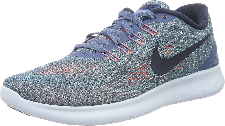 disfruta de precio barato mejor amado calidad estable Amazon.com | Nike Womens Free RN Running Shoes Ocean Fog/Hyper ...