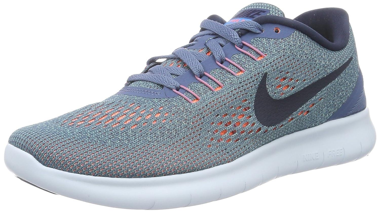 NIKE Women's Free RN Running Shoes B019DQW9XM 8.5 B(M) US|Ocean Fog/Hyper Turquoise/Bright Mango
