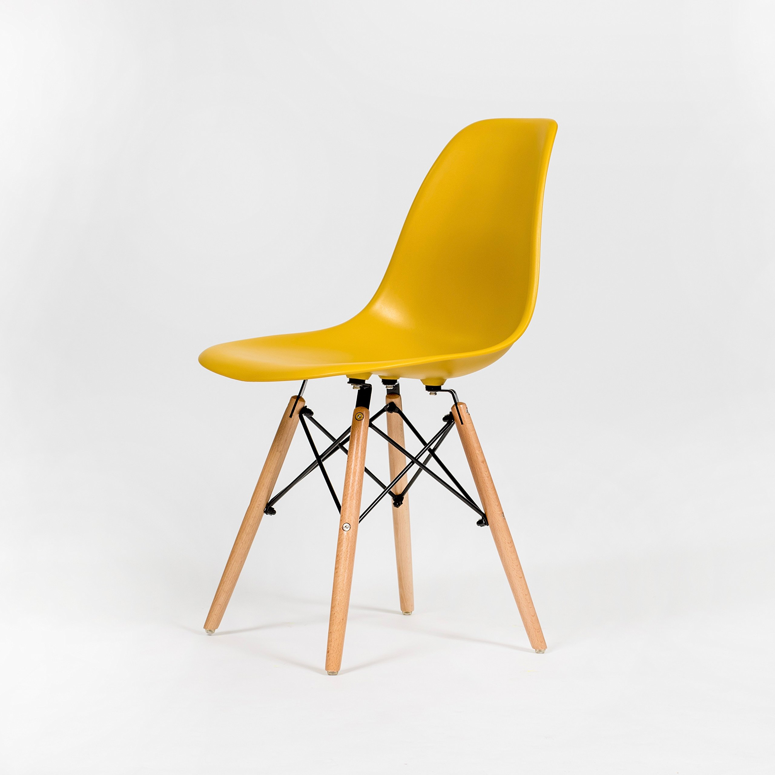 OCHS High Quality Eames Inspired Eiffel Retro DSW Plastic Dining Office  Lounge Chair Panton Designer Chair